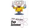 cora lujerului. Cora ofera copiilor Fun Science in octombrie, luna aniversara.