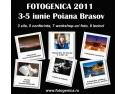 Pasionat de fotografie? Vino la Fotogenica 2011!       3-5 iunie 2011 Poiana Brasov