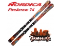 clapari. Schiuri Nordica Fire Arrow 74