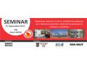 """Invitatie de participare la seminarul cu tema: """"Reducerea riscurilor la foc in unitatile de productie"""