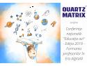"""Quartz Matrix susține formarea cadrelor didactice și Conferința naţională """"Educaţia azi"""""""