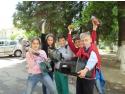 prietenii lui Baterel la Reciclat
