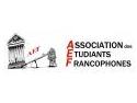 Association des Etudiants Francophones – AEF  ia fiinta la Constanţa miercuri 15 noiembrie 2006