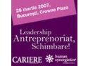 Leadership, Antreprenoriat, Schimbare