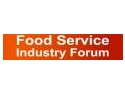 the industry. Înscrierile la Food Service Industry Forum continuă
