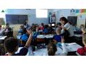 "learning by doing.  Businessul din Romania sustine educatia. Un sfert de milion de tineri romani au beneficiat gratuit de programe educationale ""learning by doing"""