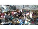 Junior Achievement Romania. De sapte ani, Junior Achievement Romania aduce gratuit educatia financiara in scoli si licee, cu sustinerea Raiffeisen Bank