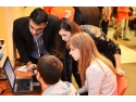 Liceenii din Bucuresti invata sa programeze mini-roboti impreuna cu mentori si ingineri Freescale