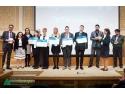 Castigatorii competitiei Sci-Tech Challenge 2015 alaturi de membrii juriului