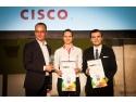 Start-up-ul romanesc VisionBot a castigat premiul Cisco Technopreneurship Award in cadrul competitiei europene de antreprenoriat de la Lisabona