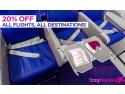 20% Reducere la zborurile WizzAir - City Break IEFTIN pe www.IzzyBooking.ro