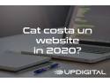 dezvoltare website. cat costa un website in 2020