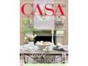 CASA LUX, prima revistă de amenajări interioare din România, acum cu un logo nou şi elegant