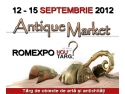 Antique Market. ANTIQUE MARKET – o fabuloasa calatorie in timp, editia a VII-a, 12 – 15 septembrie, ROMEXPO
