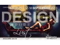 "Intre 17 si 18 septembrie, o privire de ansamblu asupra designului romanesc - Conferinta ""Design is pure lust"" la ROMEXPO"