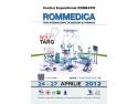 Rommedica. Noutati ROMMEDICA 2012 Expozitie internationala dedicata specialistilor din sectorul medical si farmaceutic