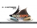eVic Mod. Toamna se numara tendintele in moda - la MODEXPO 2013!