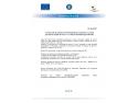"""Comunicat de presa privind finalizarea proiectului cu titlul """"Accesare capital de lucru"""" in cadrul societatii Agro Net SRL solutii elearning"""