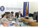 Videoconferinţa susţinută de ministrul Sorin Mihai Cîmpeanu cu conducerile inspectoratelor şcolare judeţene