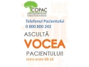 stiri. Telefonul Pacientului - un priect de suflet al COPAC - Coalitia Organizatiilor Pacientilor cu Afectiuni Cronice