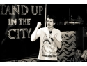 comedy show. stand up in the city