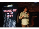 stand up comedy. stand up in the city costel