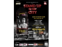 stand up in the city. Stand up comedy cu TEO