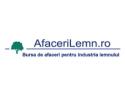 AfaceriLemn.ro este cel mai mare portal Internet de afaceri al industriei lemnului din Romania, reprezentand interesele a peste 50 000 de cumparatori si producatori de produse din lemn!