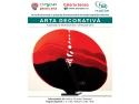 tapet decorativ cu dungi. Afis Arta Decorativa Galeria Senso 15 dec.2015-29 ian.2016