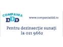 Firma dezinsectie - COMPANIA DDD