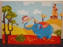 Iana Matei. Culoare pentru suflet, pictura realizata de bursierii Fundatiei Principesa Margareta a Romaniei in cadrul programului