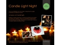 cuisine. Candle Night