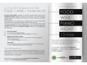 recital pian. Degustare de vinuri Cepari la Wellness Cuisine