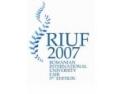 INFO STUDII INTERNAŢIONALE - 30 DE WORKSHOPURI, SEMINARII ŞI PREZENTĂRI LA RIUF 2007