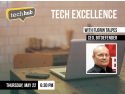 techhub bucharest. Florin Talpeş vorbeşte joi la Tech Excellence, un nou eveniment TechHub Bucharest