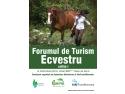 agent de turism.  CONFERINTA DE PRESA a Forumului de Turism Ecvestru