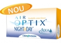 NIGHT. Cel mai MULT oxigen si CONFORT 30 de zile (si nopti) - AIR OPTIX Night&Day AQUA