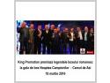 Ion Caraion. King Promotion premiaza legendele boxului romanesc la gala de box Noaptea Campionilor- Careul de Asi