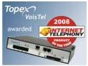 TOPEX primeşte Premiul Pentru Produsul Anului 2008, acordat de INTERNET TELEPHONY