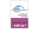 Rohde   Schwarz Topex SA. Rohde & Schwarz Topex va invita la Critical Communications World 2013, Paris
