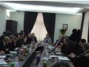 presedinte. Intalnirea Presedintelui Confederatiei Patronatul Roman (C.P.R.), Gheorghe Naghiu, cu Excelenta Sa, Maria Grapini, Ministru delegat pentru IMM-uri, Mediu de Afaceri si Turism