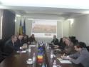 Lucian Mandruta. Întâlnire informală a mediului de afaceri din domeniul transporturilor rutiere  cu domnul deputat Lucian ȘOVA, membru în Comisia de industrii și servicii  din Parlamentul României.