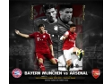 arsenal londra. bayern vs arsenal