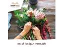 aranjament. Atelierele ILBAH organizeaza un atelier floral cu ocazia WomenDay la ParkLake Shopping Center.