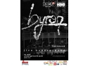 live sax. byron lanseaza DVD-ul Live Underground la Iasi pe 19 mai si la Piatra Neamt pe 20 mai
