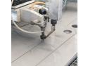 Florin Rosu. Utilizare Granat Rosu la masinile de taiat cu jet de apa