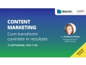 "Marketing Strategic. Beans United lansează Webinarul Gratuit ""Content Marketing: Cum Transformi Cuvintele în Rezultate"""