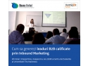marketing afiliat. Beans United organizează ce-a de-a doua ediție a seminariilor de INBOUND Marketing (SIM)