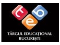 #turism educational. Targul Educational Bucuresti