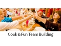 parteneriat. Cook & Fun Team Building